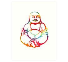 Tie-Dye Buddha Art Print
