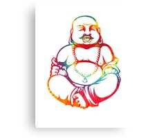 Tie-Dye Buddha Canvas Print