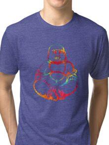 Tie-Dye Buddha Tri-blend T-Shirt