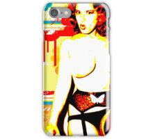 Retro Redhead iPhone Case/Skin