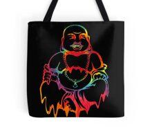 Melting Tie-Dye Buddha Tote Bag
