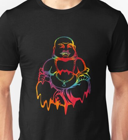Melting Tie-Dye Buddha Unisex T-Shirt