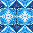 snowflake kaleidoscope by christopher r peters