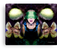 Summoning of the Muse Canvas Print