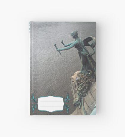 Praha statue Hardcover Journal