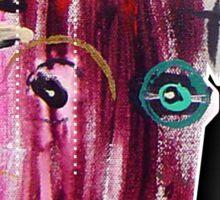 tribal clown 2 Sticker