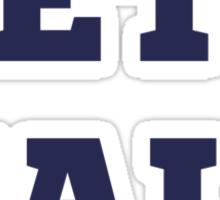 Beta Male Sticker