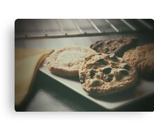 Baked Cookies Canvas Print