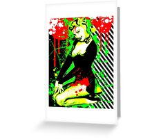 Forever Pinup III Greeting Card