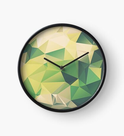 Dance Upon The Green #tech #iphone #redbubble #decor #buyart Clock