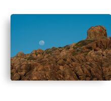 Hard Rock, Blue Sky and Green Cheese Canvas Print