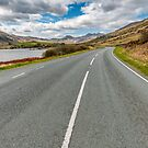 Road to Snowdon by Adrian Evans