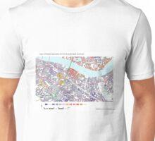 Multiple Deprivation Riverside ward, Southwark Unisex T-Shirt