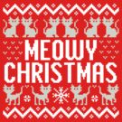 Meowy Christmas by DetourShirts