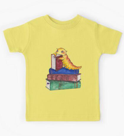 Devoured by Bookworms Kids Tee