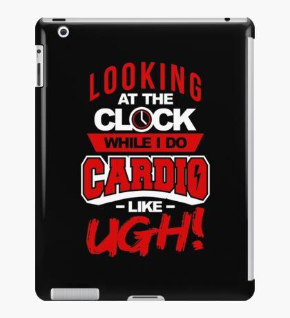 Cardio Clock iPad Case/Skin