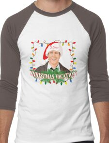 I Love Christmas Vacation Men's Baseball ¾ T-Shirt