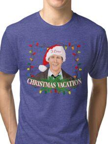 I Love Christmas Vacation Tri-blend T-Shirt