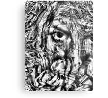 cover my face Metal Print