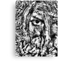 cover my face Canvas Print