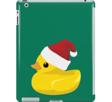 Santa Ducky iPad Case/Skin