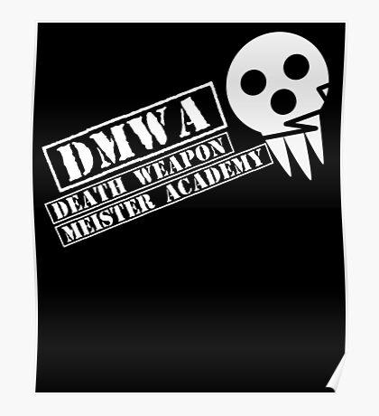 soul eater- DMWA skull Poster