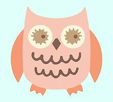 Pink Owl Collection by charliedulcet