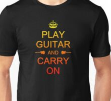 Play Guitar (colorful) Unisex T-Shirt