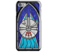 Stained Glass Series - Falcon iPhone Case/Skin