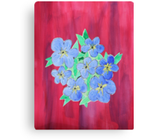 Forget-Me-Nots Canvas Print