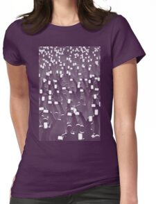 Celebrity BLUE Womens Fitted T-Shirt