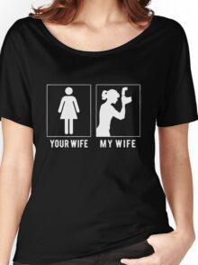 PHOTOGRAPHER - MY WIFE Women's Relaxed Fit T-Shirt