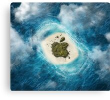 apple island Canvas Print