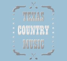 Silver Texas Country Music One Piece - Short Sleeve