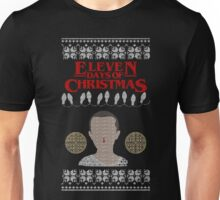Eleven Days of Christmas - Stranger Things Unisex T-Shirt