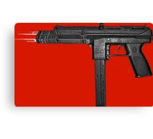 Chiraq City Gun Canvas Print