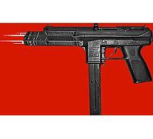 Chiraq City Gun Photographic Print
