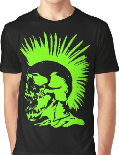 Skull Punk Graphic T-Shirt