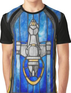 Stained Glass Series - Serenity Graphic T-Shirt