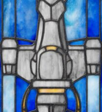 Stained Glass Series - Serenity Sticker