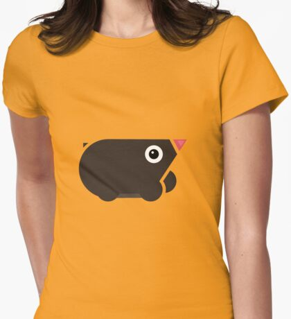 mole mania Womens Fitted T-Shirt
