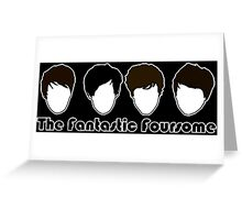 The Fantastic Foursome Greeting Card