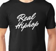 Real Hiphop - White Unisex T-Shirt