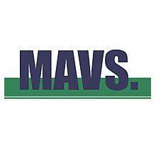 Mavs. Photographic Print
