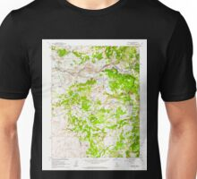USGS TOPO Map California CA Wallace 301183 1962 24000 geo Unisex T-Shirt