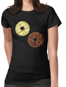 Donuts like Chocolates Womens Fitted T-Shirt