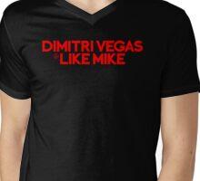 DV & LM red Mens V-Neck T-Shirt