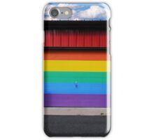 rainbow garage iPhone Case/Skin