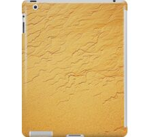 Travel background with wave sand texture iPad Case/Skin