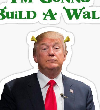 Shrek Trump Sticker